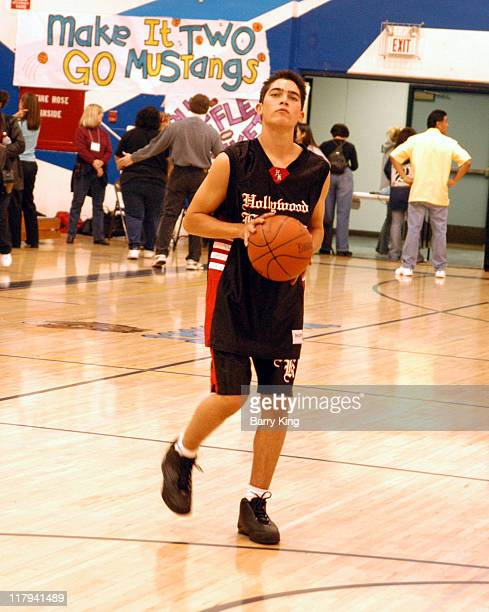Tyler Hoechlin during Hollywood Knights Charity Basketball Game at Walnut High School in Walnut California United States