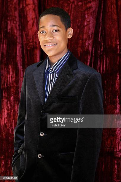 Tyler James Williams attends the 29th Annual Evening of Stars honoring Smokey Robinson presented by the United Negro College Fund at the Pasadena...