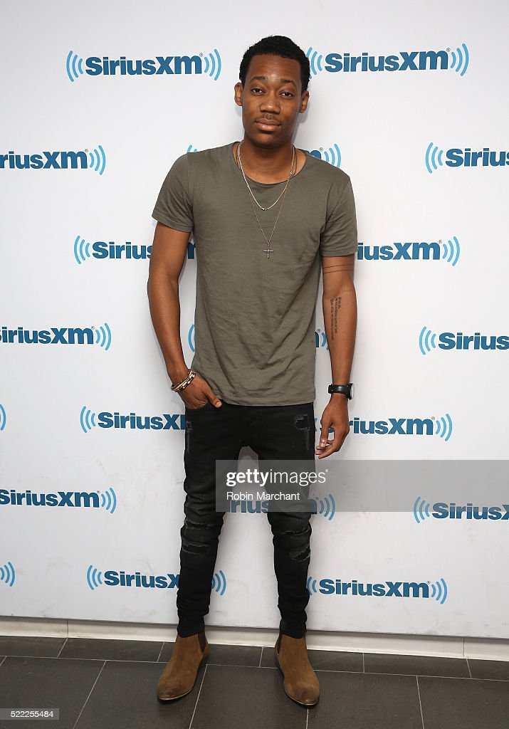 Tyler James Williams visits at SiriusXM Studio on April 18, 2016 in New York City.