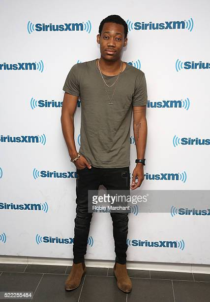 Tyler James Williams visits at SiriusXM Studio on April 18 2016 in New York City