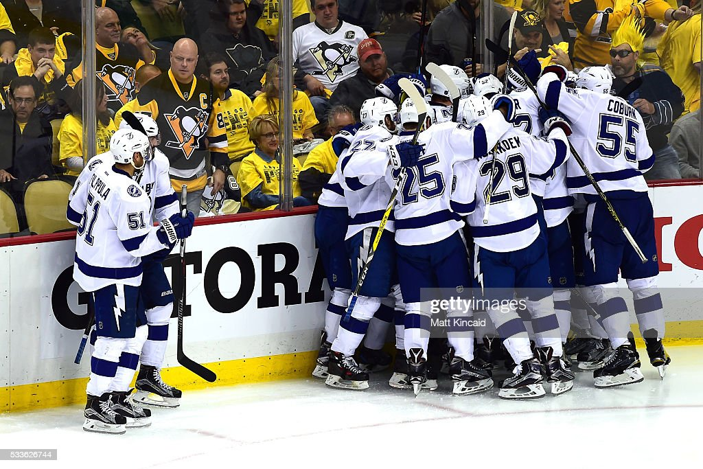 Tampa Bay Lightning v Pittsburgh Penguins - Game Five