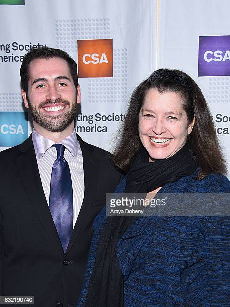 Tyler Jones and Suzzane GoddardSmythearrive at the 2017 Annual Artios Awards at The Beverly Hilton Hotel on January 19 2017 in Beverly Hills...