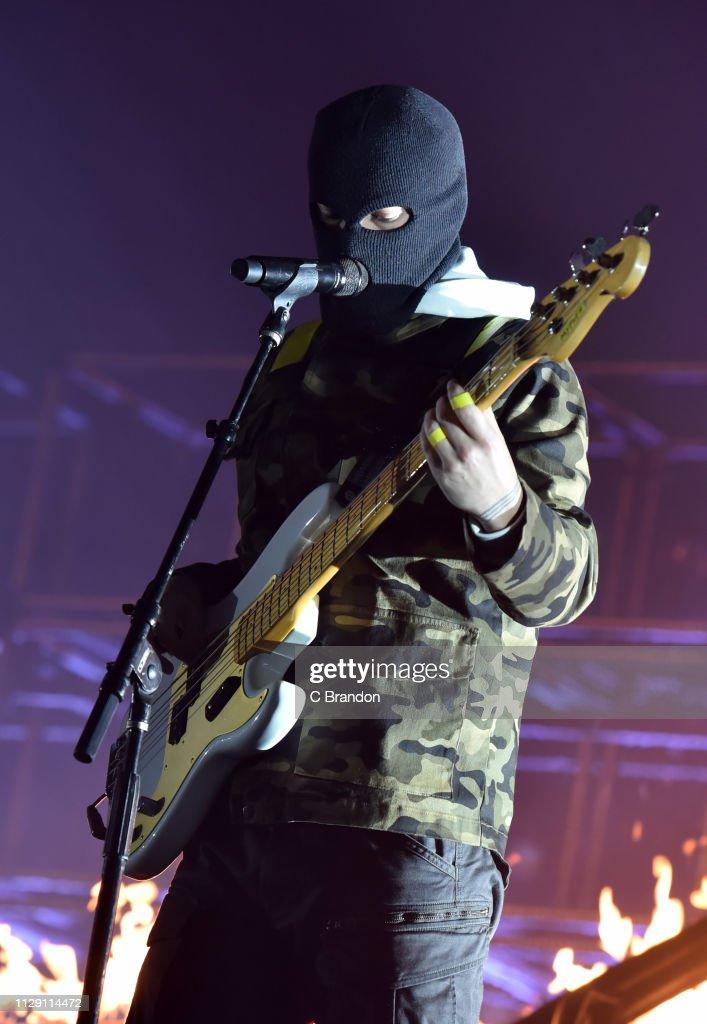 GBR: Twenty One Pilots Perform At The SSE Arena, Wembley London