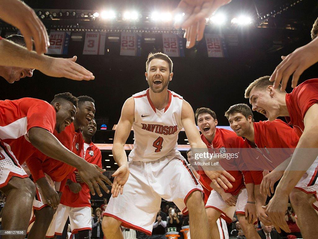 Atlantic 10 Basketball Tournament - La Salle v Davidson : News Photo