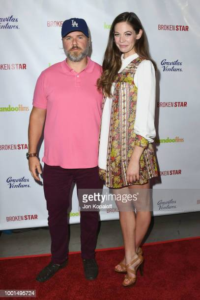 Tyler Labine and Analeigh Tipton attend premiere of Gravitas Ventures' 'Broken Star' at TCL Chinese 6 Theatres on July 18 2018 in Hollywood California