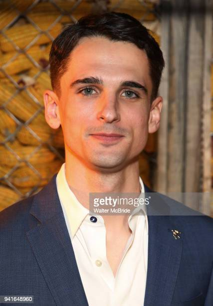 Tyler Lea attends the opening night press reception for the Roundabout Theatre Company/Roundabout Underground production of 'Bobbie Clearly' at The...