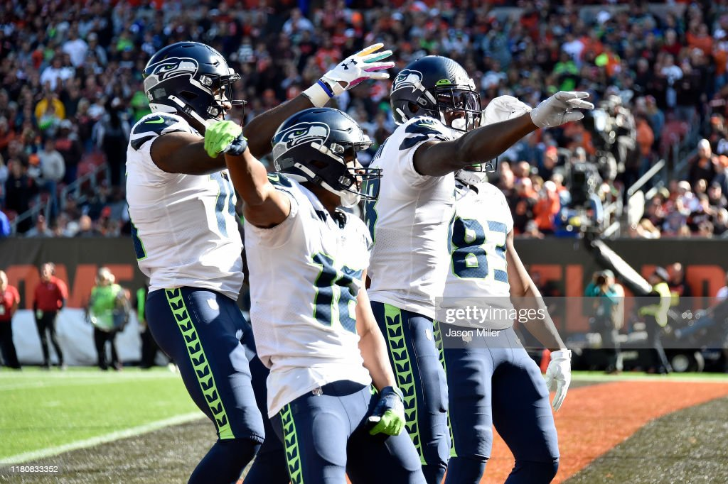 Seattle Seahawks vCleveland Browns : News Photo