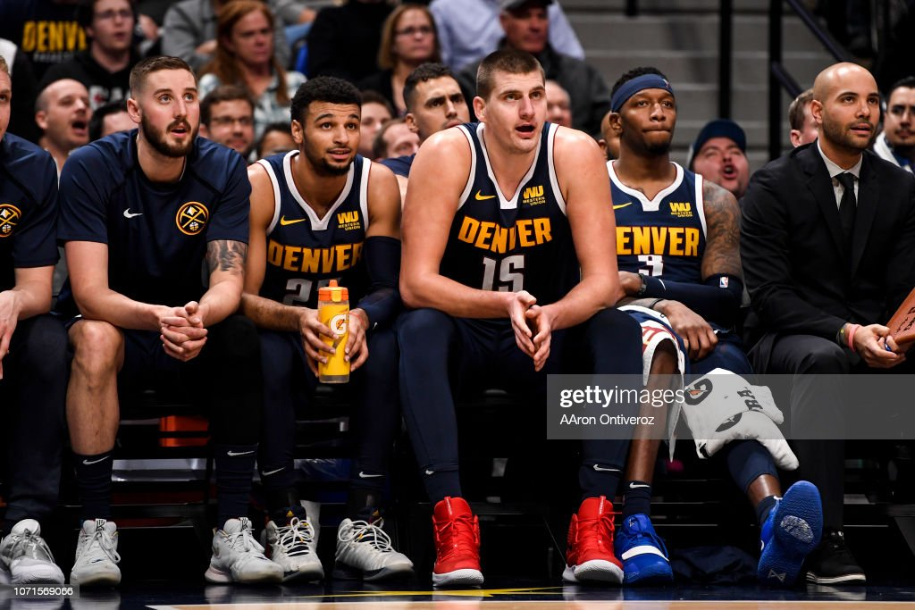 DENVER NUGGETS VS MEMPHIS GRIZZLIES, NBA : News Photo