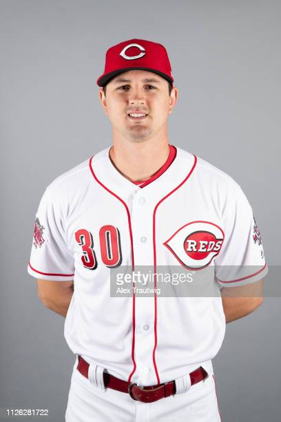 Tyler Mahle of the Cincinnati Reds poses during Photo Day on Tuesday February 19 2019 at Goodyear Ballpark in Goodyear Arizona