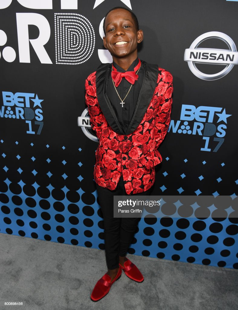 Tyler Marcel Williams at the 2017 BET Awards at Staples Center on June 25, 2017 in Los Angeles, California.