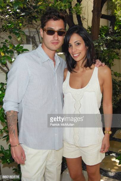 Tyler March and Azzy Rabbie attend FARAONE MENNELLA and BARBARA BALDIERI MARCH host a benefit for March to the Top in Malibu at Private Residence on...