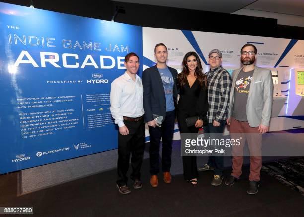 Tyler Moldenhauer Chad Moldenhauer Marija Moldenhauer Ryan Moldenhauer and Jared Moldenhauer creators of Cuphead and nominees of the 'Best Debut...