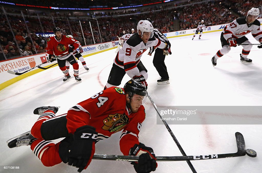 New Jersey Devils v Chicago Blackhawks