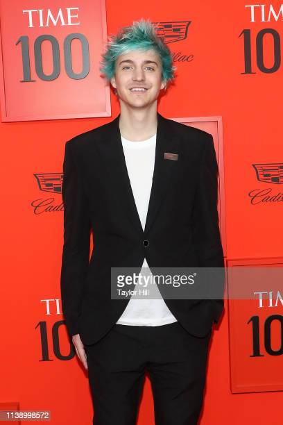 Tyler Ninja Blevins attends the 2019 Time 100 Gala at Frederick P Rose Hall Jazz at Lincoln Center on April 23 2019 in New York City
