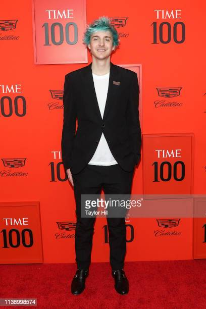 """Tyler """"Ninja"""" Blevins attends the 2019 Time 100 Gala at Frederick P. Rose Hall, Jazz at Lincoln Center on April 23, 2019 in New York City."""