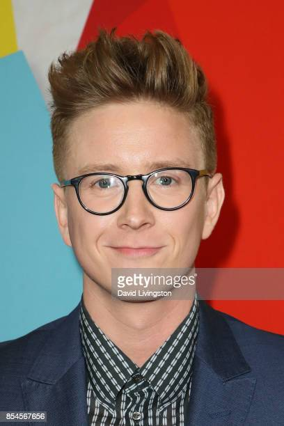 Tyler Oakley attends the 7th Annual 2017 Streamy Awards at The Beverly Hilton Hotel on September 26 2017 in Beverly Hills California