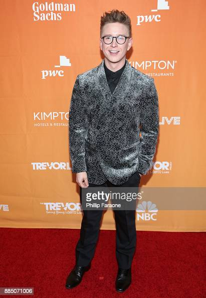 Tyler Oakley attends The Trevor Project's 2017 TrevorLIVE ...