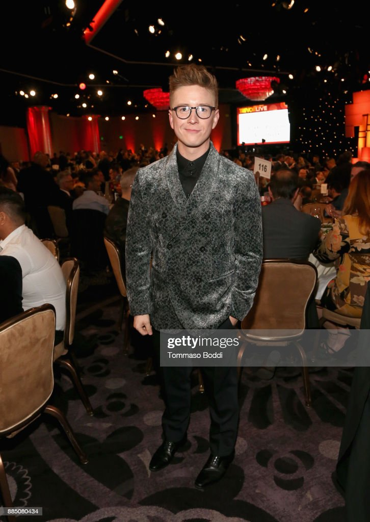 Tyler Oakley attends The Trevor Project's 2017 TrevorLIVE LA Gala at The Beverly Hilton Hotel on December 3, 2017 in Beverly Hills, California.