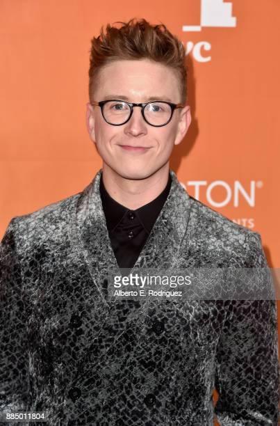 Tyler Oakley attends The Trevor Project's 2017 TrevorLIVE LA on December 3 2017 in Beverly Hills California