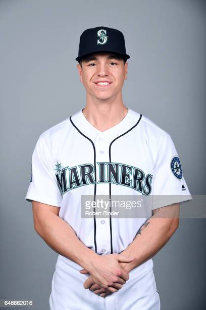 Tyler O'Neill of the Seattle Mariners poses during Photo Day on Monday February 20 2017 at Peoria Sports Complex in Peoria Arizona