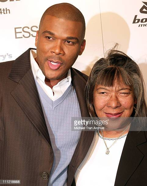 Tyler Perry and his mom Maxine during Lionsgate Presents Madea's Family Reunion Los Angeles Premiere Arrivals at Cinerama Dome in Los Angeles...