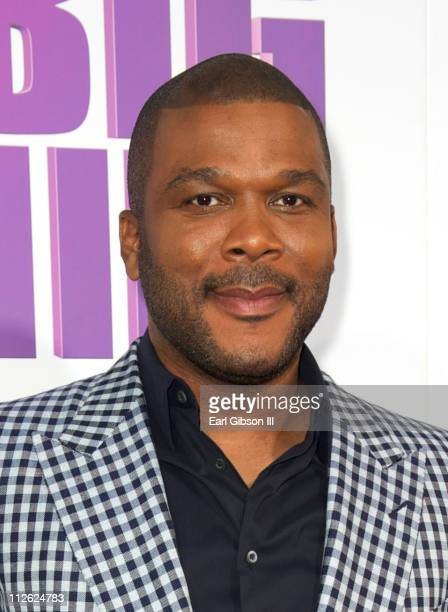 Tyler Perry appears on the red carpet for 'Madea's Big Happy Family' at The Dome at Arclight Hollywood on April 19 2011 in Hollywood California