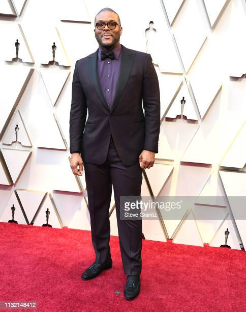 Tyler Perry arrives at the 91st Annual Academy Awards at Hollywood and Highland on February 24 2019 in Hollywood California