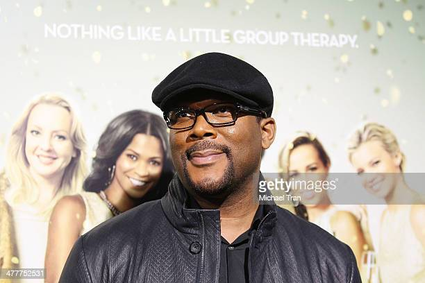 Tyler Perry arrives at the Los Angeles premiere of Tyler Perry's The Single Moms Club held at ArcLight Cinemas Cinerama Dome on March 10 2014 in...
