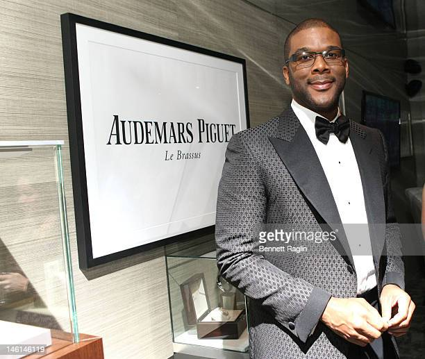 Tyler Perry attends 66th Annual Tony Awards Audemars Piguet Luxury Green Room at The Beacon Theatre on June 10, 2012 in New York City.