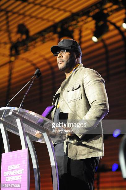 Tyler Perry attends the 2014 Essence Music Festival on July 5 2014 in New Orleans Louisiana