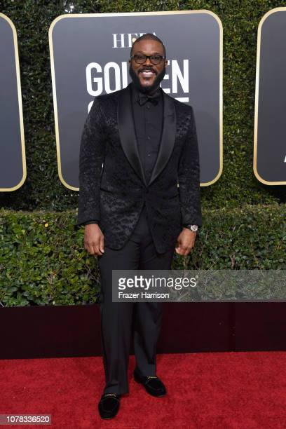 Tyler Perry attends the 76th Annual Golden Globe Awards at The Beverly Hilton Hotel on January 6 2019 in Beverly Hills California