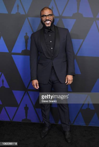 Tyler Perry attends the Academy of Motion Picture Arts and Sciences' 10th annual Governors Awards at The Ray Dolby Ballroom at Hollywood Highland...