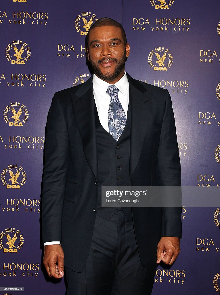 Tyler Perry attends the DGA Honors Gala 2015 on October 15, 2015 in New York City.