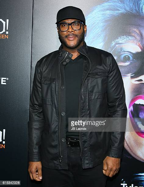 Tyler Perry attends the premiere of Lionsgate's 'Boo A Madea Halloween' on October 17 2016 in Hollywood California