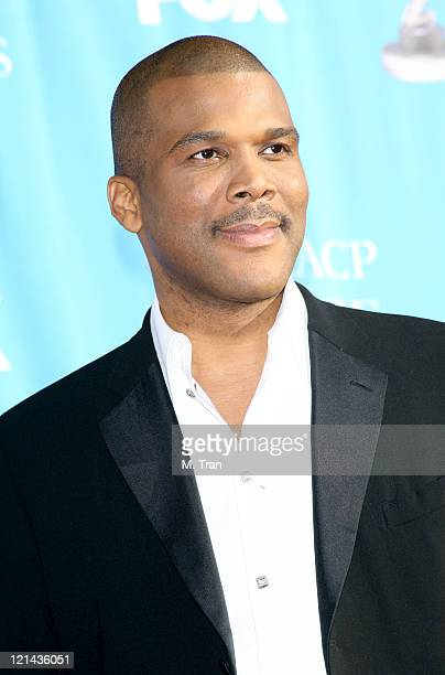 Tyler Perry during 38th Annual NAACP Image Awards - Arrivals at Shrine Auditorium in Los Angeles, California, United States.