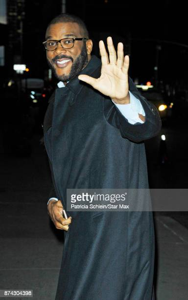 Tyler Perry is seen on November 14 2017 in New York City