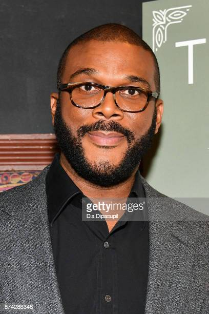 "Tyler Perry launches his new book ""Higher Is Waiting"" at the Gramercy Theatre on November 14, 2017 in New York City."