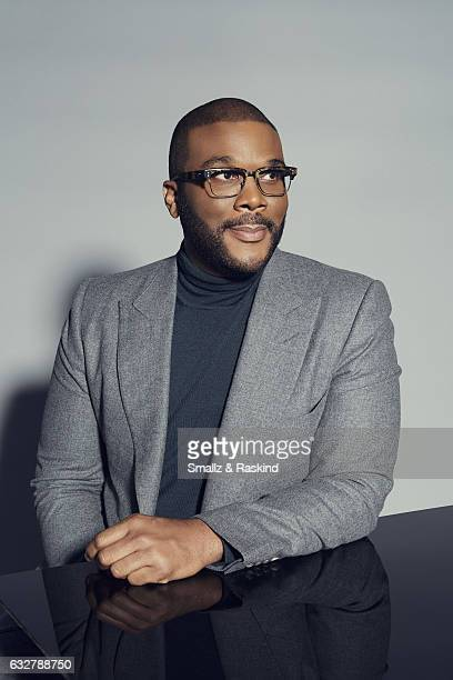 Tyler Perry poses for a portrait at the 2017 People's Choice Awards at the Microsoft Theater on January 18 2017 in Los Angeles California