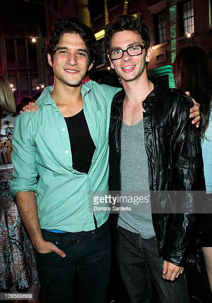 Tyler Posey and attends the Ninth Annual Teen Vogue Young Hollywood Party at Paramount Studios on September 23 2011 in Hollywood California