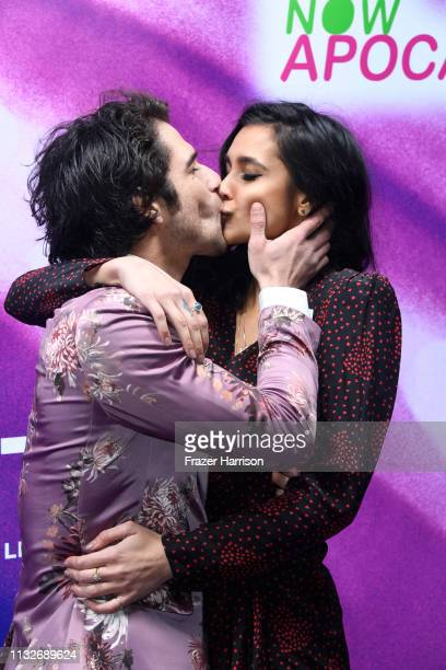 Tyler Posey and Sophia Ali attend the 'Now Apocalypse' Los Angeles Premiere at Hollywood Palladium on February 27, 2019 in Los Angeles, California.