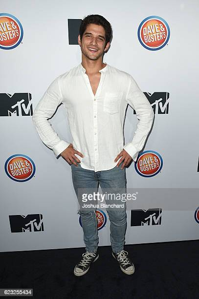 Tyler Posey arrives at MTV's 'Teen Wolf' and 'Sweet/Vicious' Premiere Event on November 14 2016 in Los Angeles California
