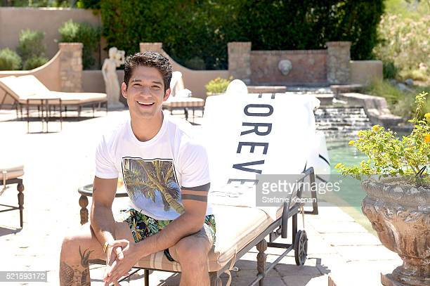 Tyler Posey attends Forever 21 Celebrates #F21xMUSIC on April 16 2016 in La Quinta California