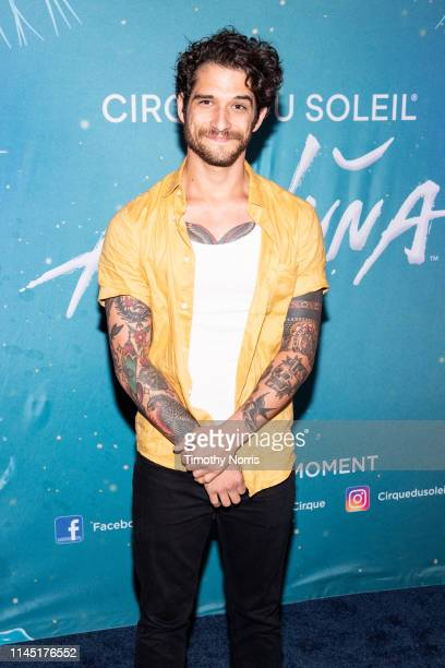 Tyler Posey attends the LA premiere event of Cirque du Soleil's Amaluna at Big Top At The LA Waterfront on April 25 2019 in San Pedro California