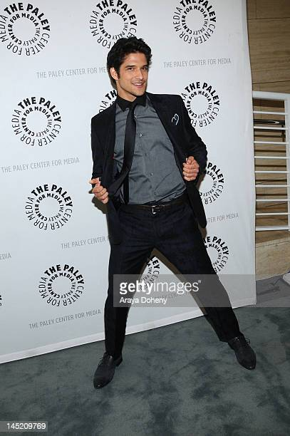Tyler Posey attends the Paley Center for Media presents season 2 premiere screening conversation with MTV's 'Teen Wolf' at The Paley Center for Media...