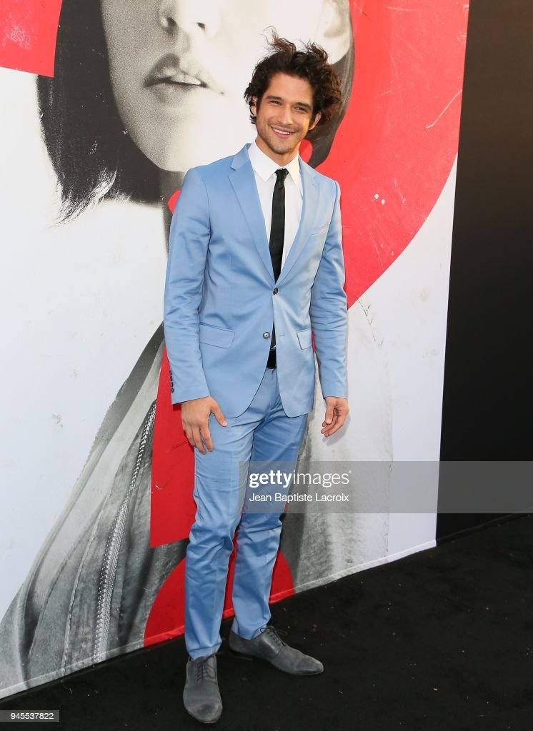 Tyler Posey attends the premiere of Universal Pictures' 'Truth Or Dare' on April 12, 2018 in Hollywood, California.