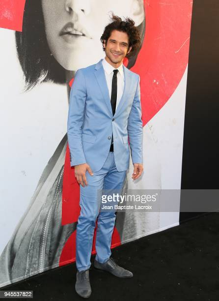 Tyler Posey attends the premiere of Universal Pictures' 'Truth Or Dare' on April 12 2018 in Hollywood California