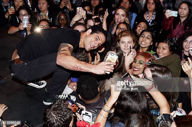 Tyler Posey attends the 'Teen Wolf' Final Farewell during day 3 of 2016 New York Comic Con at Hammerstein Ballroom on October 8 2016 in New York City