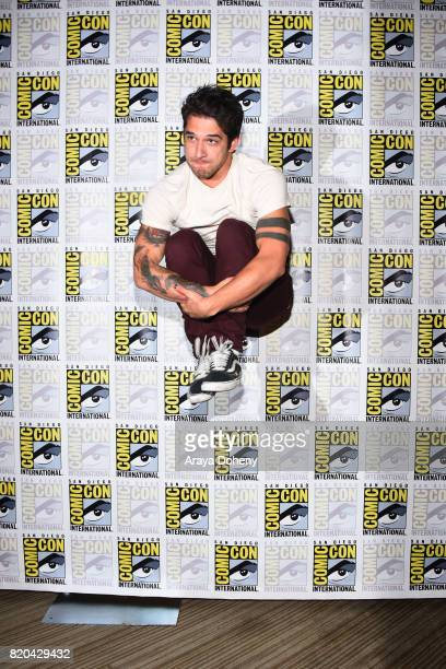 Tyler Posey attends the 'Teen Wolf' press conference at ComicCon International 2017 on July 21 2017 in San Diego California