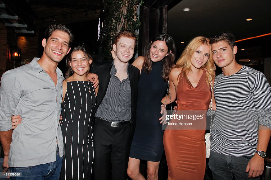 Cameron Monaghan's Birthday Dinner At The District By Hannah An : News Photo