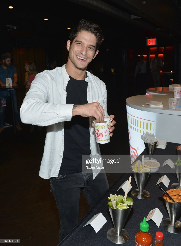 Tyler Posey hosts Nissin Cup Noodles' Noods Before Dark pre-party before the annual celebrity-packed Heroes After Dark celebration at Highline Ballroom on October 6, 2017 in New York City. As presenting sponsor of the exclusive party, Nissin Cup Noodles gave VIP guests a delicious way to warm up for the night as the brand served up its iconic instant ramen cups for guests to customize with some of their favorite toppings.